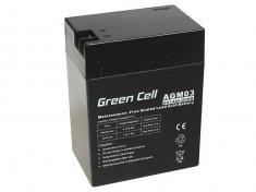 AGM baterie Green Cell 14Ah 6V