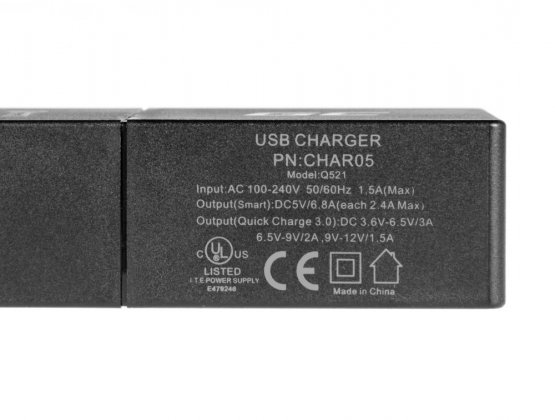 USB nabíjačka GC 5x USB Quick Charge 3.0