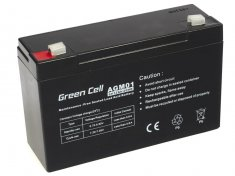 AGM batéria Green Cell 12Ah 6V